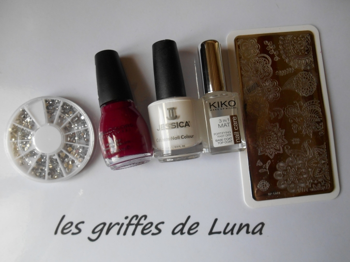 Nail art Stamping simple materiel