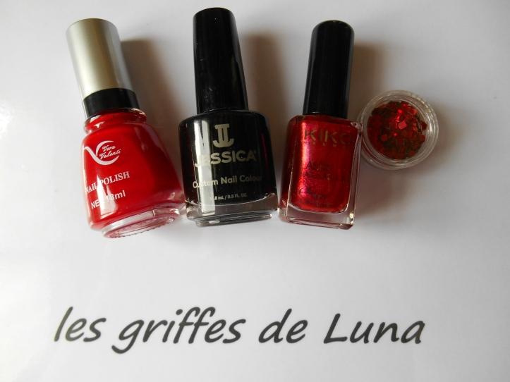 nail-art-rouge-noir-materiel